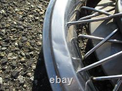 Factory 1964 1965 Pontiac 15 inch wire spoke spinner hubcaps wheel covers