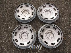 Factory 1983 to 1995 Buick Century 14 inch wire spoke hubcaps wheel covers