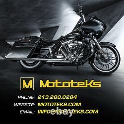 Fat Spoke Wheel 16x3.5 52 Front & Rear Set For Harley Softail Models