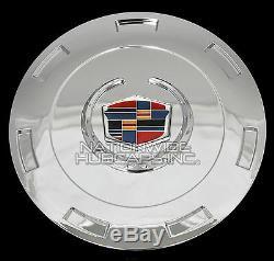 Fits 07-14 Cadillac Escalade Chrome 22 Wheel Center Hub Caps Hubs Rim Covers RC