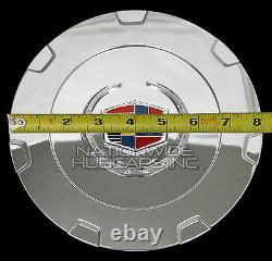 Fits 2007-2015 Cadillac Escalade 22 Chrome Wheel Center Hub Caps Rim Covers RC