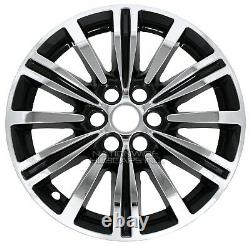 Fits Cadillac XT5 2017-19 Chrome Black 18 Wheel Skins Hub Caps Alloy Rim Covers