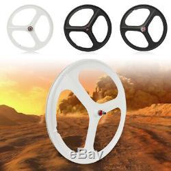 Fixed Gear Mag Wheels 700c Rims 3 Spoke Front&Rear Fixie Bike Single Speed