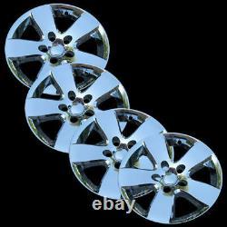 For Dodge RAM 1500 20 Chrome Wheel Skins Hub Caps Cover 5 Spoke Alloy Fit Set