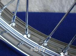 For Harley 2000-05 40 Spoke 21 Front/16 Rear Wheel Set Parts