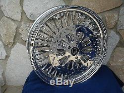 For Harley Bahama Mammoth 52 Spoke 11.5 Front Rear Brake Rotors Parts