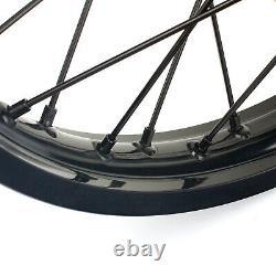 For Honda CRF250R CRF450R 2013-2019 MX Front Rear Wheel Hub Rims Spokes 21 18