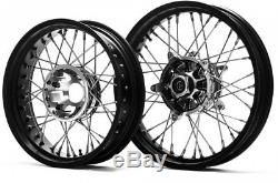 Front 3.00-19 Rear 4.50-17 KITE Spoked Wheels Fits BMW R1200GS Adventure 2017