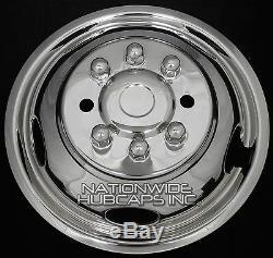 GMC Sierra 3500 17 Dually Stainless Steel Wheel Simulator Dual Rim Liner Skin s