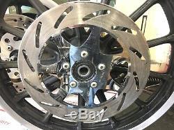 Genuine Harley 2001 Sportster Dyna 13 Spoke Dual Disc Front & Rear Wheels Rims