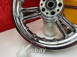 Genuine Harley Detonator Three Spoke Dyna Sportster 21Front & Rear Wheel OEM