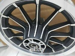 Genuine Harley Sportster Dyna 13 Spoke Dual Disc Front & Rear Wheels Rims Mags