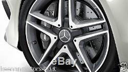 Genuine OEM Mercedes Benz CLA GLA Class C117 AMG 18 Twin 5 Spoke Center Cap