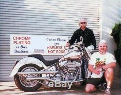 HARLEY CHROME KNUCKLE 28 SPOKE FRONT & REAR WHEEL RIMS WithROTORS 09-18