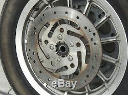 Harley Davidson 2001 Sportster Dyna 13 Spoke Front & Rear Wheels Rims