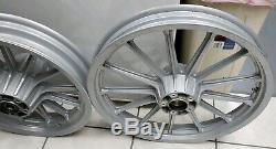 Harley Davidson Sportster Dyna 13 Spoke Front & Rear Wheels Rims