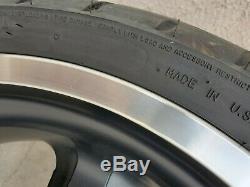 Harley Davidson V-Rod 5-spoke Front and Rear Wheels (PN# 43634-08 and 43635-08)
