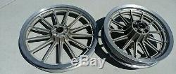 Harley FXR, Sportster, Dyna. 13 Spoke Wheels, 19 Front, 16 Rear