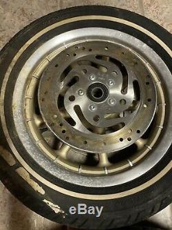 Harley Mag Set Front Rear Wheel Wagon 9 Spoke Touring 16x3 100tH Anniversary