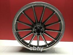 Harley OEM 99 & Earlier Dyna Lowrider 13 Spoke Wheels 19 Front 16 Rear