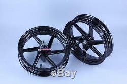 Honda Nsr50 Nsr 80 Nsf100 New Front + Rear Rim Wheel 12 6 Spoke