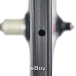 ICAN FL40 Carbon Road Bike Wheelset Sapim CX-Ray Spoke Clincher Tubeless Ready