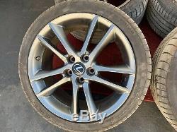 Lexus 2012 Is Is350 F-sport Wheels Rims Set Original Alloy 5 Double Spoke Oem