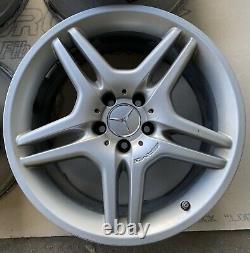 Mercedes AMG WHEEL SET SL500 SL550 9.5 8.5x18 18 FRONT REAR Rim 2304012802