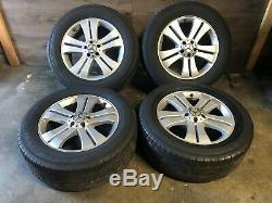 Mercedes Benz Oem Gl450 Ml350 Ml500 Front Rear Set Rim Wheel And Tire 19 Inch