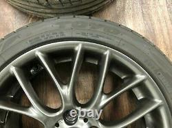 Mini Cooper S John Cooper Works 17 Inch Cross Spoke Alloys Wheel Set R112 4x100