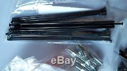 Montesa 4rt Spokes & Nuts Black New Kit Front & Rear Wheel Montesa Cota 4rt New
