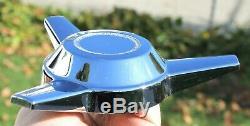 NEW Set of 4 TRU-SPOKE Chrome Wheel 3 Bar Spinner Center Cap Cragar Truespoke