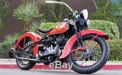 NICKEL 18 SPOKE SET for 1930 1936 Harley VL Front or Rear Wheel