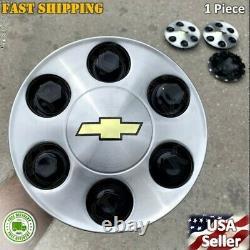 New 1 Silverado Suburban Tahoe 17 Aluminum Wheel Center Hub Caps Rim Cover 959