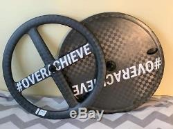 New Giant Sunweb TT Wheel set /Rear Disc and 4 Spoke front Tubular/Shimano