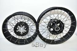 Nice BMW R1200GS R1250GS Adventure K51 Spoked wheels rims felge front + rear