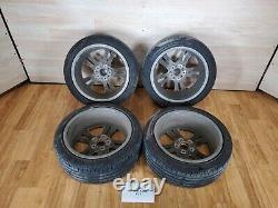 OEM BMW F30 F32 F33 F36 Front Rear Rim Wheel R18 8J Double Spoke 397 SET