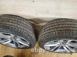 OEM BMW F30 F32 F33 F36 Front Rear Rims Wheels R18 8J M Star-Spoke 397 SET