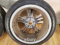 OEM BMW F30 F32 F33 Front Rear Rims Wheels R18 8J 8.5J M Star-Spoke 400 SET