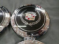 OEM CADILLAC 93-95 DEVILLE FLEETWOOD Center Cap 40 Spoke Wheel Rim CHROME 4513CC