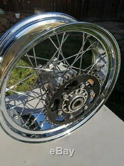 OEM Ducati Sport Classic GT 1000 Spoked Wheels Rims Front 49921371 Rear 50021361