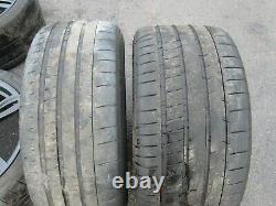 Oem 2012-2019 Bmw F06 F12 F13 M6 Front/rear Wheel Rim Matte Black Set Of 4 17331