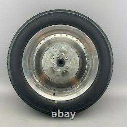 Original Harley-Davidson 16 x 3.00 Hinterrad + Bremsscheibe + Dunlop Reifen
