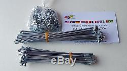 Ossa Spokes & Nuts Wheels New Kit Full Kit Ossa Enduro Ossa Phantom Ossa Mar