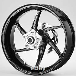 PVM WHEELS 6 spoke forged aluminium wheels, front/rear wheel set