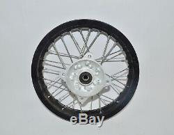 Pitster Pro Pit Bikes Front Rear Back Wheel Rim Spokes Hub Set