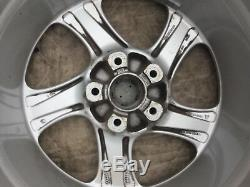 Porsche 996/993 Oem Factory Genuine Turbo Look 5 Spoke 18 Wheel/tires & Cap Set