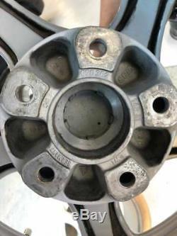 Porsche 996 Gt2 Oem Factory Genuine Turbo Twist 5 Spoke 18 Wheel/tire & Cap Set