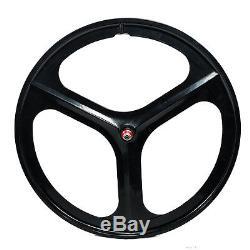 Premium 700c / 29 3-Spoke Mag Rims Fixie Bicycle Sealed Wheel & Sets