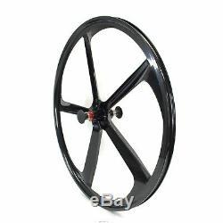 Premium 700c / 29 5-Spoke Mag Rims Fixie Bicycle Sealed Wheel & Sets